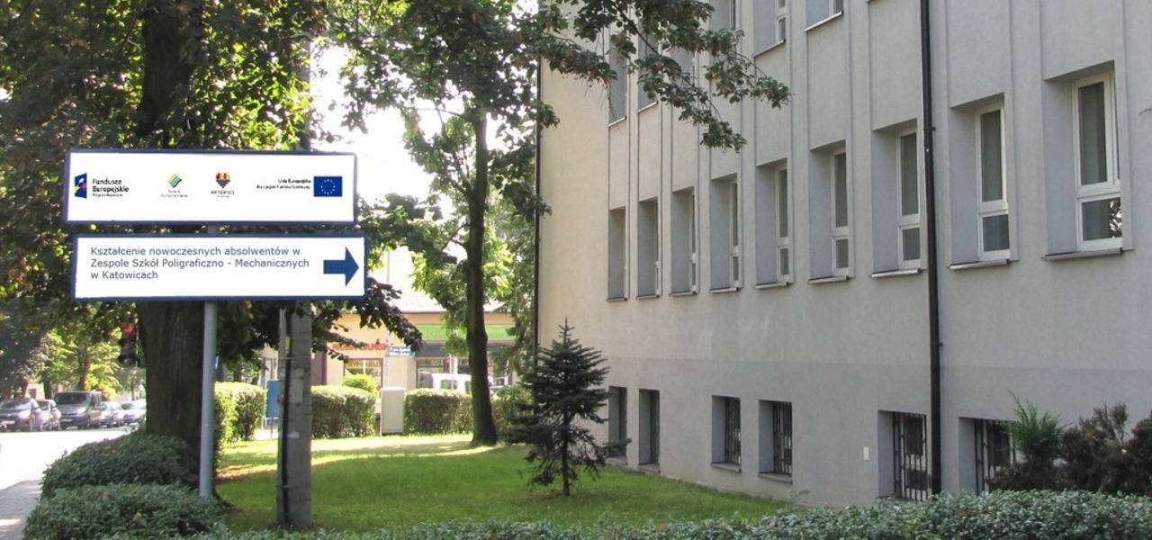 Projekt realizowany w Zespole Szkół Poligraficzno-Mechanicznych
